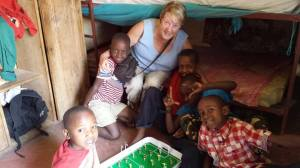Bonnie at orphanage